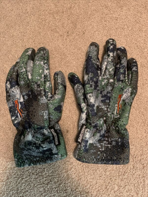 Sitka Stratus Gloves Elevated I Big Game Forest Large