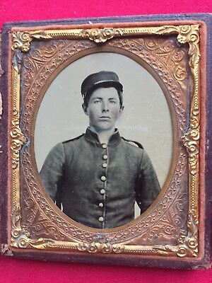 Confederate Ambrotype 1/6 Plate