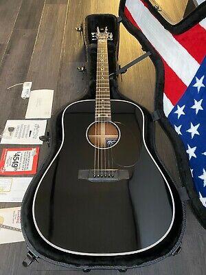 C.F Martin & Co POW MIA Special Edition Black Acoustic Guitar