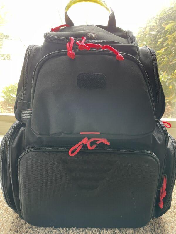 G.P.S. GPS Handgunner Range Backpack - Black