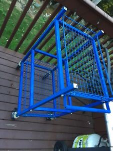 Trolley, Cart With Adjustable Shelves