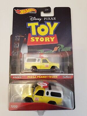 2020 Disney Cars Hot Wheels Toy Story Todd Pizza Planet Truck