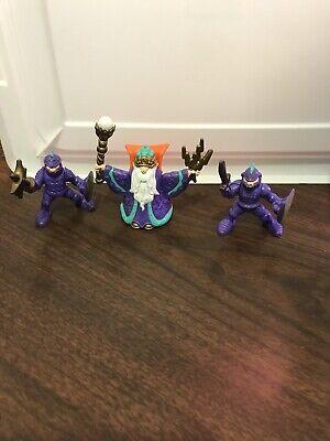Fisher Price Great Adventure Purple Knight Figure Pack Wizard Castle Very RARE