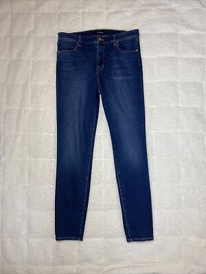Womans J Brand High Rise Skinny Jeans Size 31 New