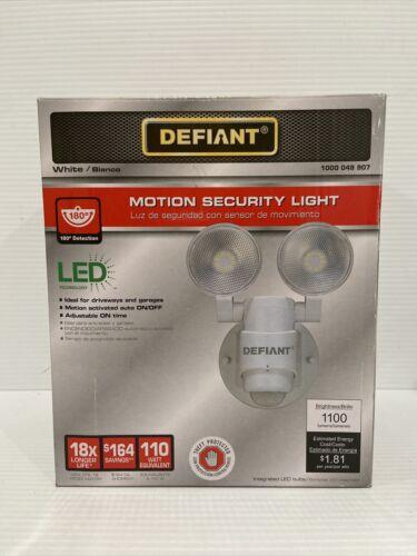 Defiant LED Motion Sensor Security Light 180 Degree Outdoor