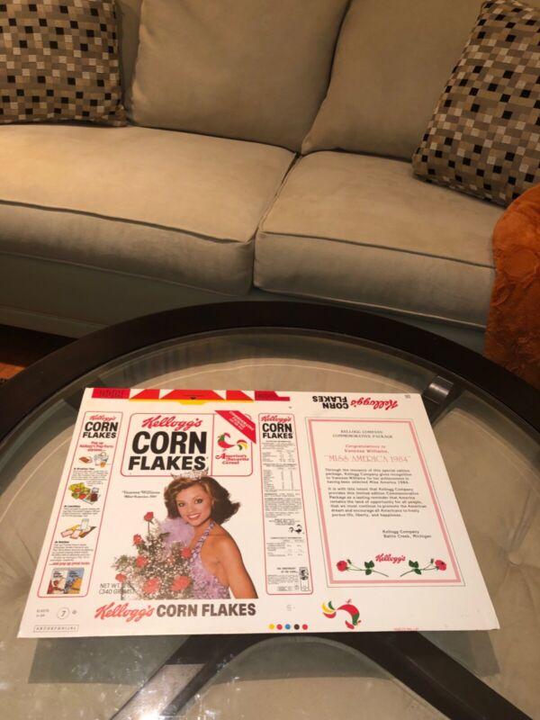 "Vanessa Williams~Miss America~Prototype Sample"" Kellogg's Corn Flakes""SUPER~RARE"