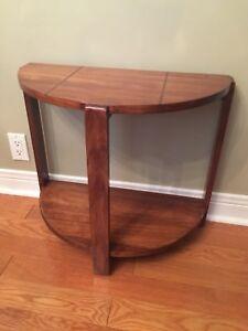 Art Deco Console Table - Half Moon Shape - Excellent Condition