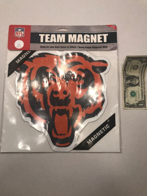 "NFL Chicago Bears LARGE Team MAGNET Heavy Gauge Vinyl 10.5""x11"" NEW Car"