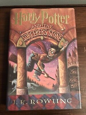 Harry Potter and the Sorcerer's Stone J.K. Rowling 1998 Hardcover 1st US edition