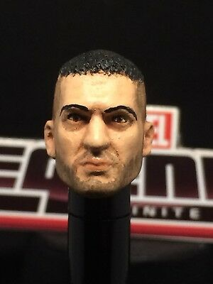 READY TO SHIP MARVEL LEGENDS PAINTED / FITTED NETFLIX  PUNISHER 1:12 HEAD CAST
