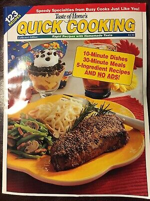 - Taste of Home Quick Cooking Magazine 123 Recipes Collector's Edition 2001