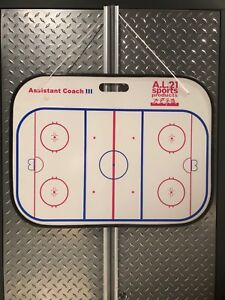 """Large hockey coaches board 2' x 18"""" with handle. $10 New in box"""