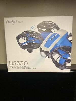 Holyton HS330 Round of applause Operated Mini RC Drone Altitude 3D Flip Quadcopter 3 Battery