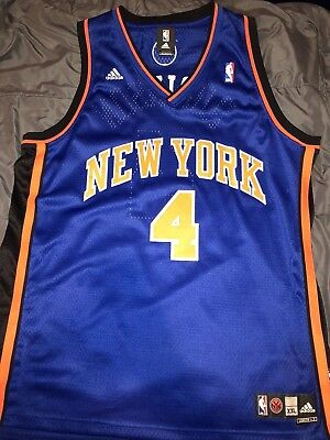 Robinson, New York Knicks (Nate Robinson Authentic New York Knicks Adidas NBA Jersey Mens 2XL)