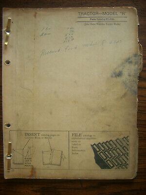 Jd John Deere Model R Series Parts Manual