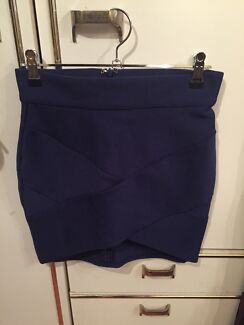 Navy Blue Bandage Skirt Belmore Canterbury Area Preview