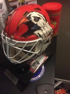 Eddie Belfour Signed mask