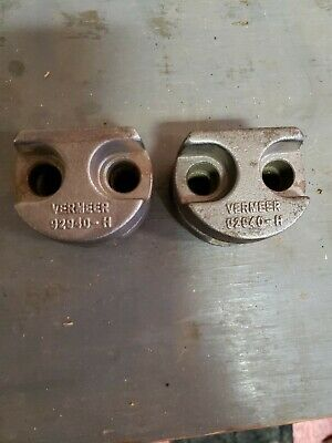 Vermeer Stump Grinder Tooth Saddle Set Of 2 92940-h 92940-th
