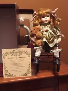 Doll with certificate