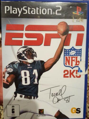 Computer Games - PLAYSTATION 2 PS2 ESPN NFL 2K5 PAL RARE COMPUTER FOOTBALL GRID-IRON GAME 2004