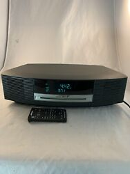 Bose Wave Music System with remote, CD player, alarm clock, AM/FM radio