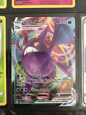 Iksbat Vmax 45/72 Pokemon Karten Sammlung 1.Edition | shiny goldstar psa 9 10