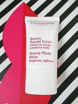 Clarins Beauty Flash Balm Brightens Tightens Travel Size .5 oz Travel Size