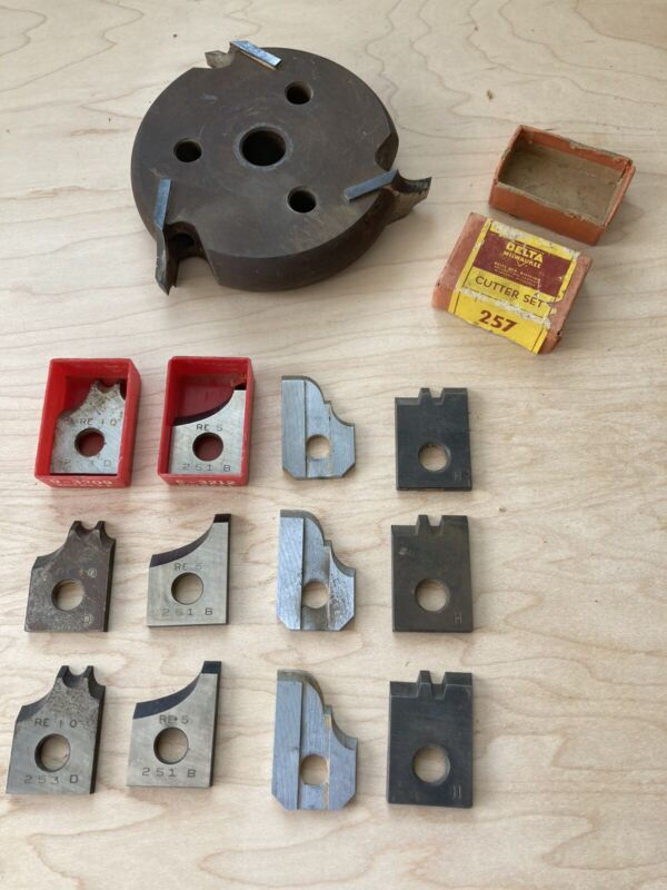 Delta Moulding Cutter Head Wheel With Knives