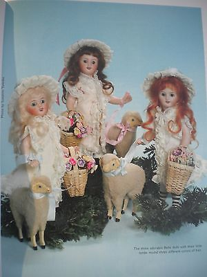 """All Bisque French Mignonette 7.5"""" Doll dress pattern and instruction"""