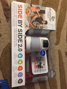 Summer infant side by side 2.0 dual camera baby monitor NEW