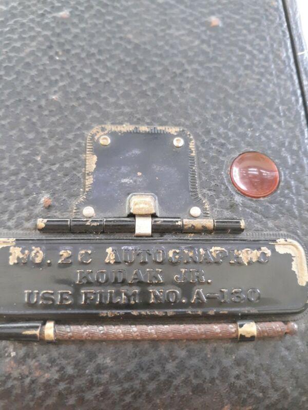 Vintage Antique Kodak 1910-1913 No. 2-C AUTOGRAPHIC KODAK JR.