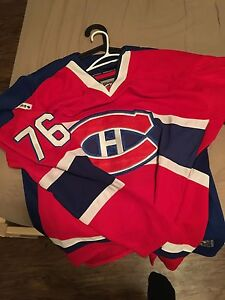 Official Montreal Canadiens jersey 2009 centennial