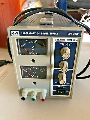 Gw Laboratory Dc Power Supply Gpr-3030 - Lightly Used