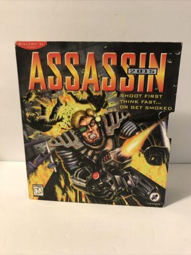 Computer Games - Inscape ASSASSIN 2015 (1996) Computer Game Windows 95 Big Box PC Game