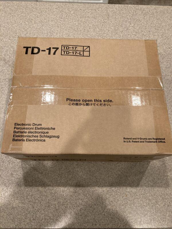 New Roland TD-17 Drum Sound Module with Bluetooth