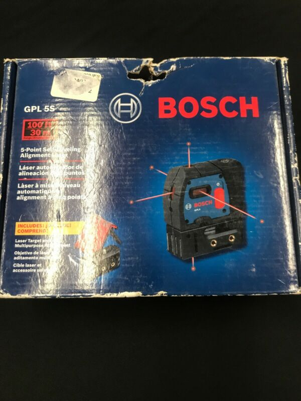Bosch 5- Point Self-Leveling Alignment Laser GPL 5 S