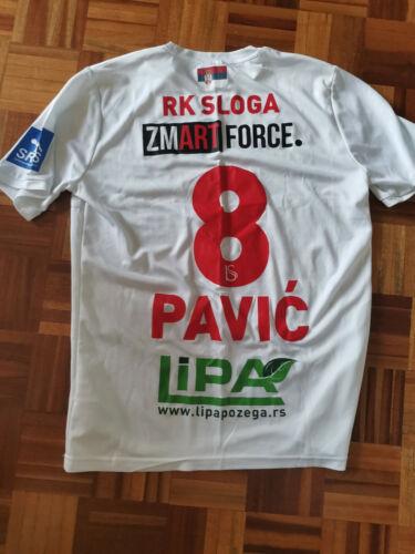 ANTONIJE PAVIC Match Worn Jersey Handball Club RK Sloga Pozega Serbia