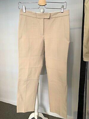 Joseph Capri Cropped Trousers Natural Sz 36 Uk 8 New Net A Porter