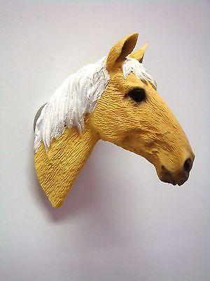 PALOMINO  HORSE HEAD KITCHEN REFRIGERATOR MAGNET
