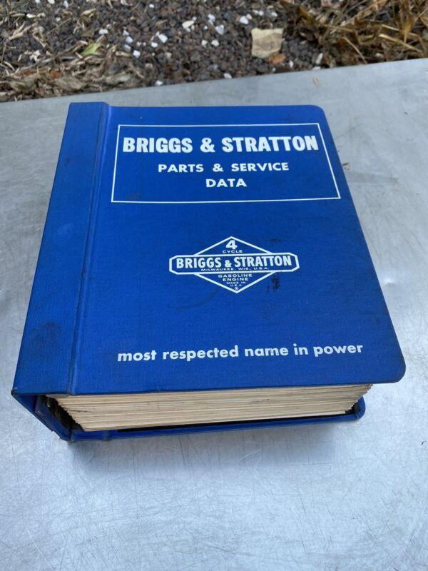 Briggs Stratton catalog book Parts Service Data Ms-3222 Ms-3639 Manual 190000