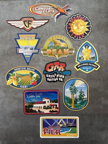 Disneyland California Adventure Decal Set / Vinyl Sticker / Luggage Scrapbooking