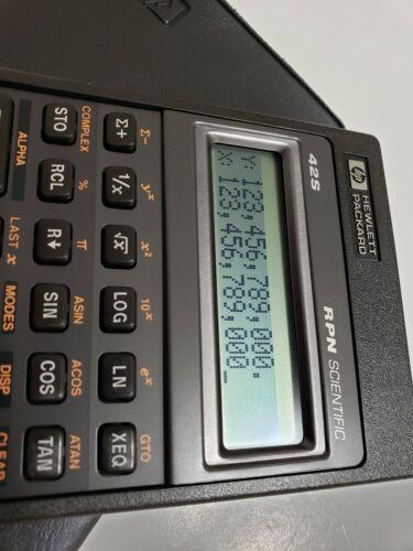 Open Box HP 42S Hewlett Packard Calculator NOS
