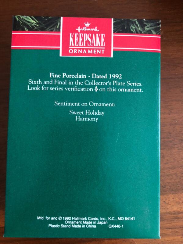 HALLMARK 1991 WINTER SURPRISE PENGUINS SERIES ORNAMENT