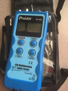 Pro's Kit  MT-7059 network/cable tester (damaged)