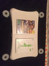Nintendo wii fit board and 2 games Boondall Brisbane North East Preview