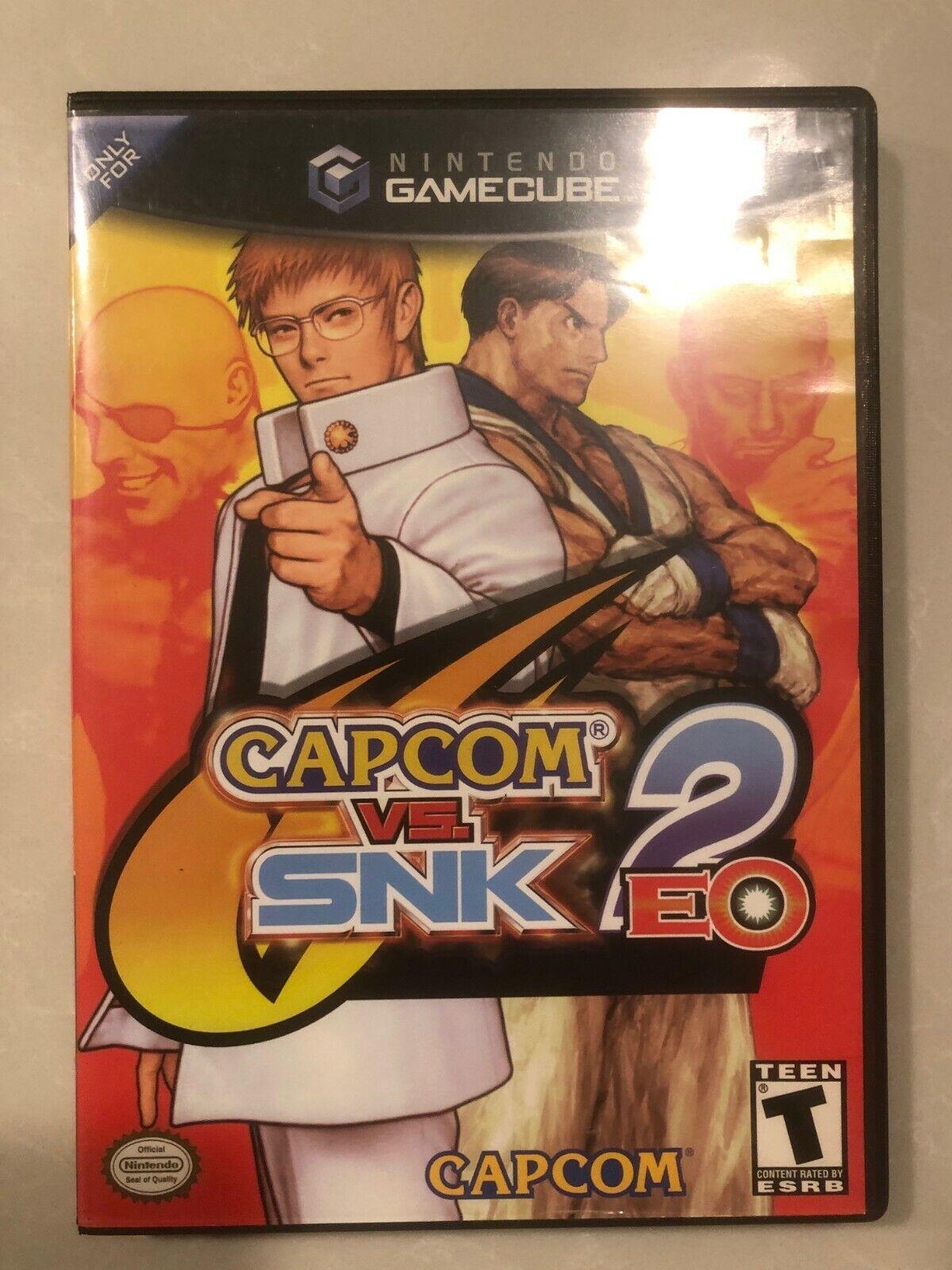 Capcom vs. SNK 2 EO Nintendo GameCube