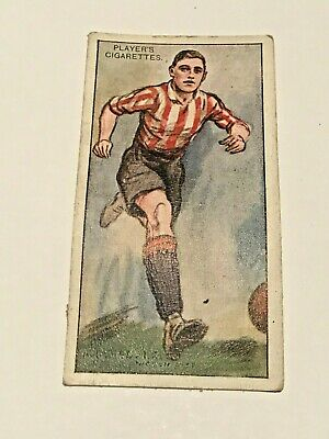⚽ No.10 W DINSDALE LINCOLN CITY Footballers 1928 Cigarette Card John Player Sons