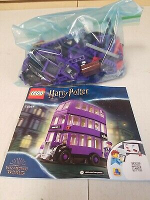 Lego 75957 Harry Potter The Knight Bus Complete Set Instructions No Figures