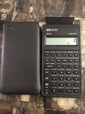 HP Hewlett Packard 20S Scientific Calculator With Carry Case