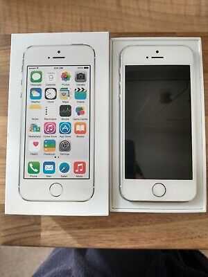 Apple iPhone 5s - 16GB - Silver (Tesco Mobile) A1457 (GSM)